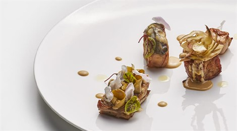 Rabbit, Oyster And Artichoke