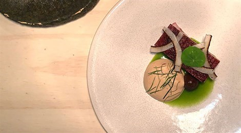 "S.Pellegrino Young Chef 2019 Pacific Winner with the signature dish ""Analogy"""