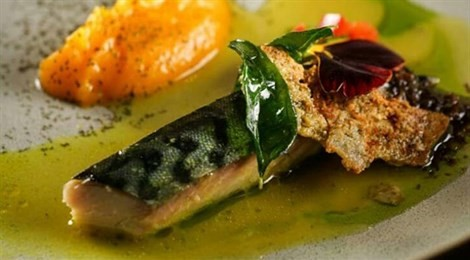 "Winner of S.Pellegrino Award for Social Responsibility with the signature dish:""Smoked Java Mackerel With Batak Sauce"""