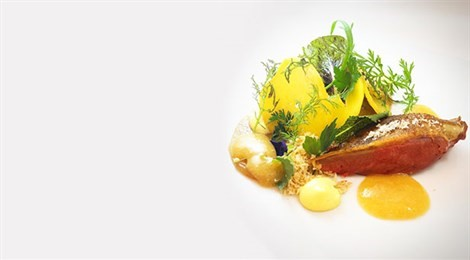"Winner of Fine Dining Lovers Food for Thought Award with the signature dish: ""Roma Locuta"""