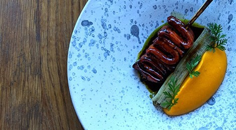 """S.Pellegrino Young Chef 2019 UK & North Europe Winner with the signature dish: """"Humble Vegetables"""""""